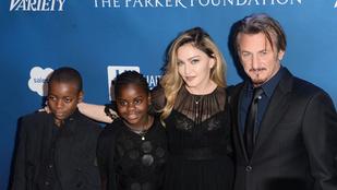 Egymásra talált az ínséges időkben Madonna és Sean Penn
