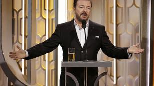 Ricky Gervais fél Hollywoodot lealázta a francba Golden globe-os poénjaival