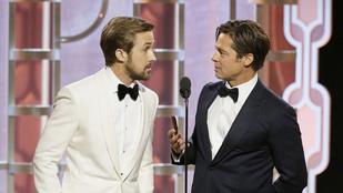 Instant szívroham: Brad Pitt és Ryan Gosling együtt, egy színpadon