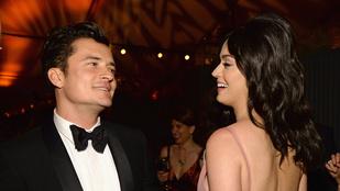 Micsoda flört ez Katy Perry és Orlando Bloom közt!