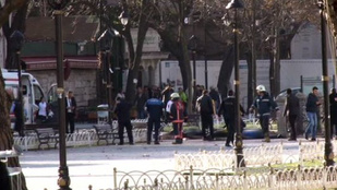 Hatalmas robbanás rázta meg Isztambul központját