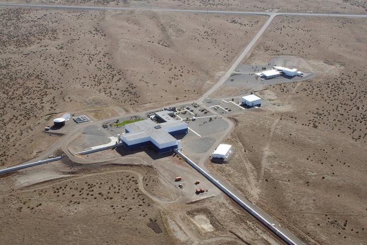 A LIGO hanfordi épülete