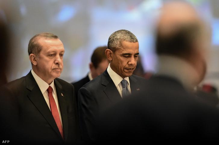 Erdoğan és Obama viszonya sem felhőtlen