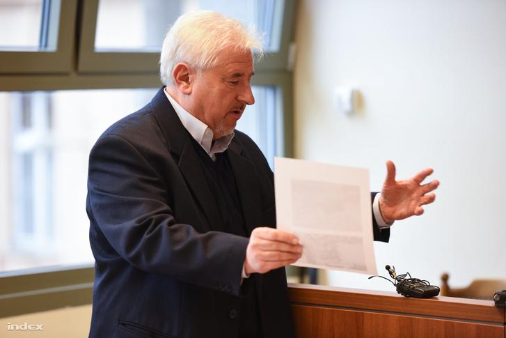 Magyar György hétfőn a bíróságon