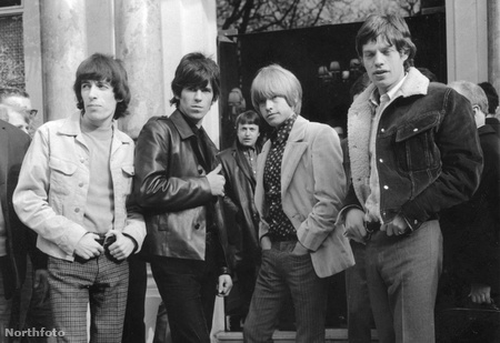 Bill Wyman, Keith Richards, Brian Jones és Mick Jagger