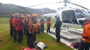 Két magyar hegymászó tévedt el és száradt ki Új-Zélandon