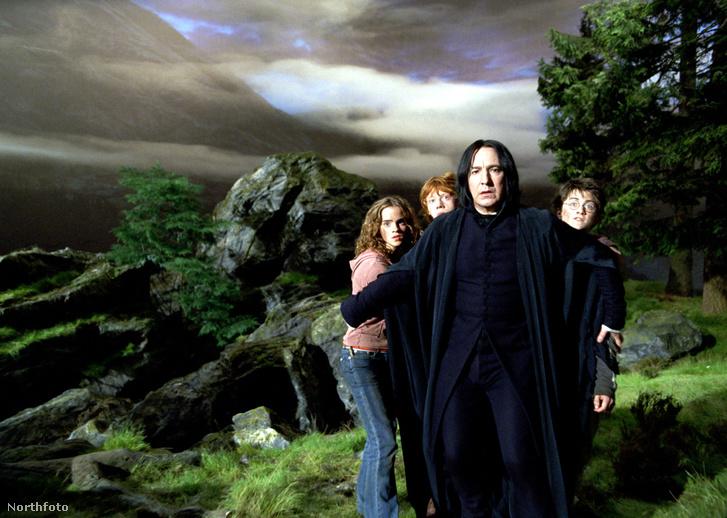 Emma Watson, Rupert Grint és Daniel Radcliffe melett