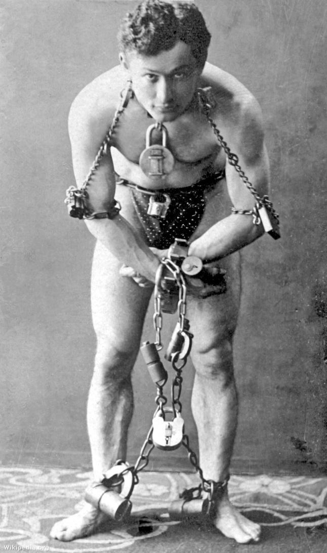 Harry Houdini 1899-ben