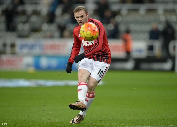 Rooney: 14 meccs, 2 gól
