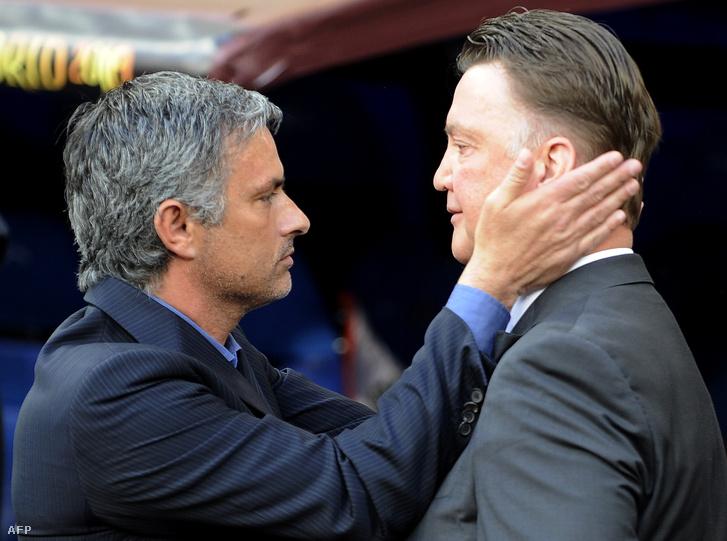 Mourinho és Van Gaal