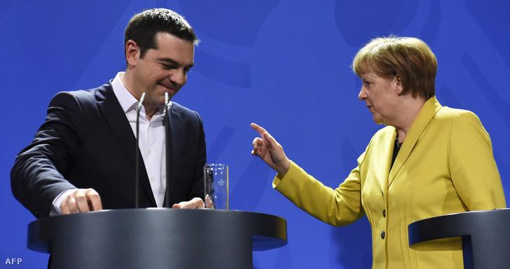 Ciprasz és Merkel 2015 márciusában