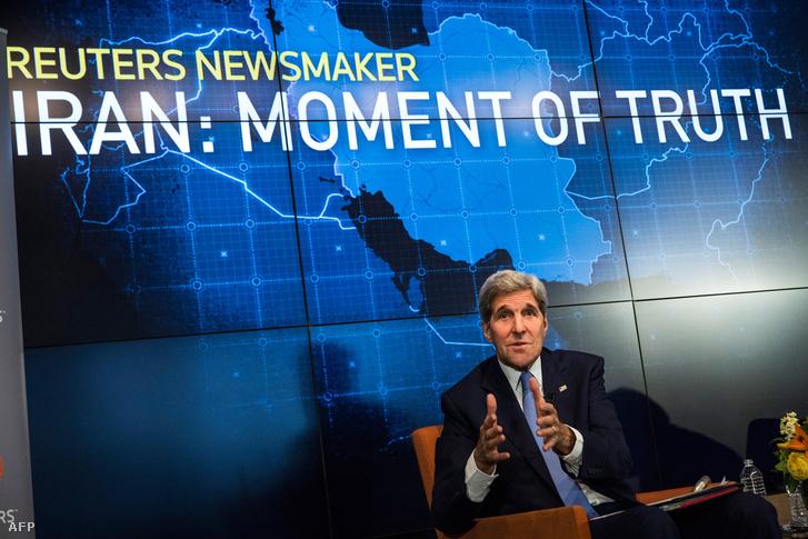 John Kerry és az Iránnal kötött megállapodás