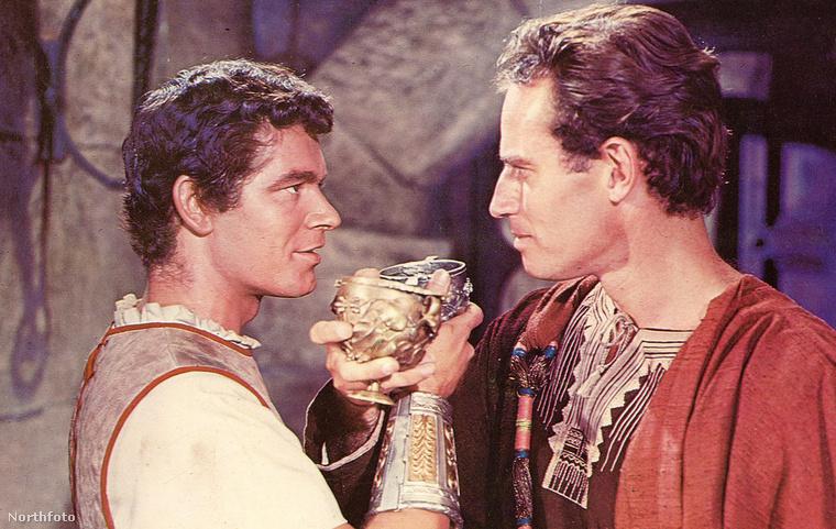 Stephen Boyd és Charlton Heston a Ben-Hurban