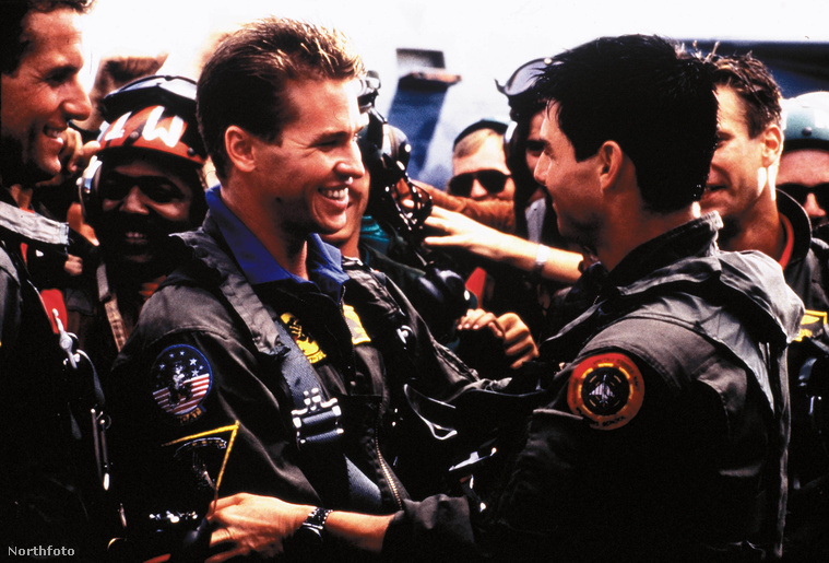 Val Kilmer és Tom Cruise a Top Gunban nagyon örültek egymásnak