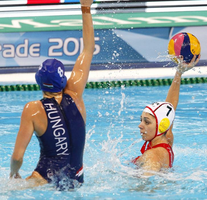 Keszthelyi Rita (b) és a portugál Fatima Airosa