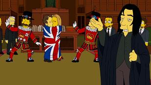Így vettek búcsút a Simpsons alkotói Alan Rickmantől
