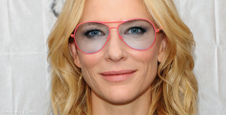 Cate Blanchett októberben az AOL BUILD eseményén