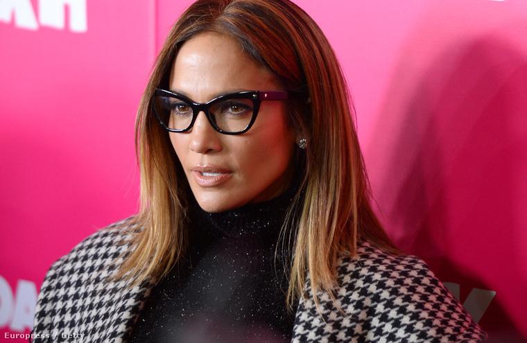 Jennifer Lopez a Rock the Kasbah című film premierjén 2015. október 19-én