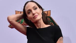 Angelina Jolie szinte aggasztóan vékony