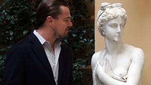 Van remény, Leonardo DiCaprio megcsókolt egy rajongót