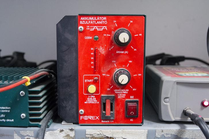 A készülék, amellyel sok akkumulátort meg lehetne menteni