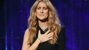Celine Dion minden este megrázza halott férje kezét
