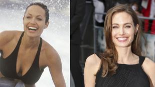 Angelina Jolie mindig is ilyen sovány volt