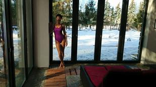Görög Zita még mindig verhetetlen fürdőruhában