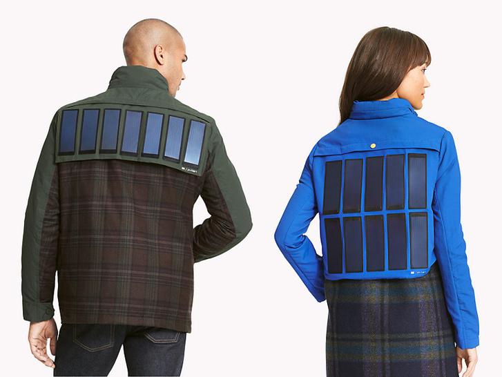 A Tommy Hilfiger napelemes ruhái