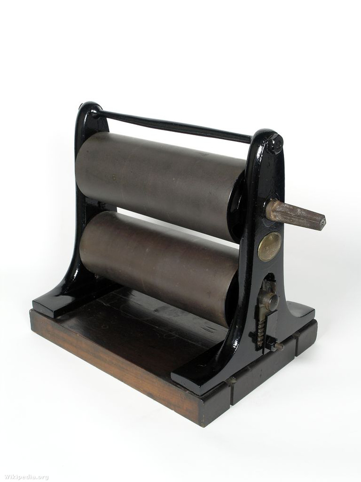 A James Watt által feltalált másológép.