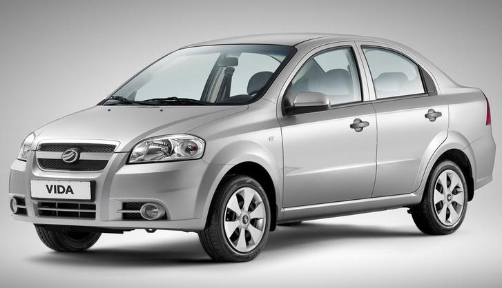 A Chevrolet Aveo alapjaira épített ZAZ Vida