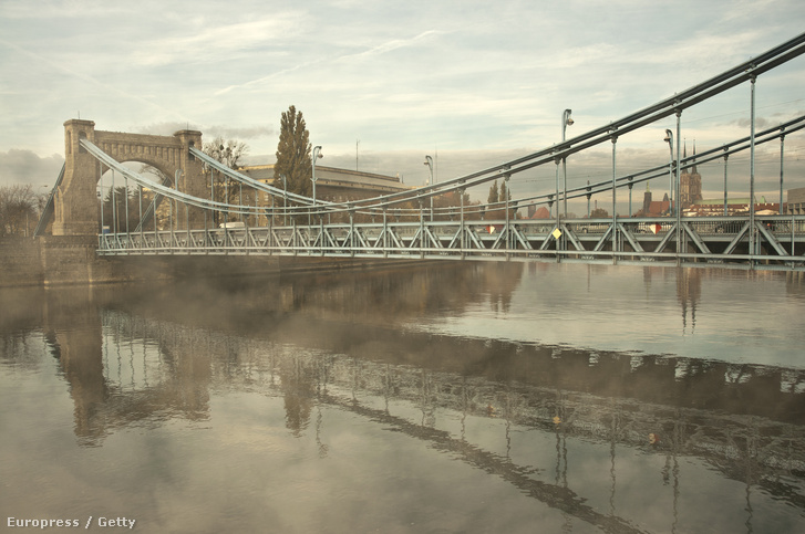 A Grunwaldzki-híd Wroclawban