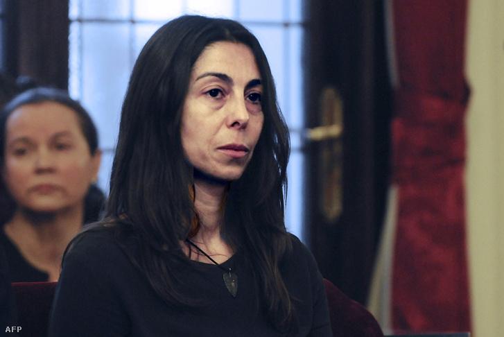 Montserrat Gonzalez a bíróságon