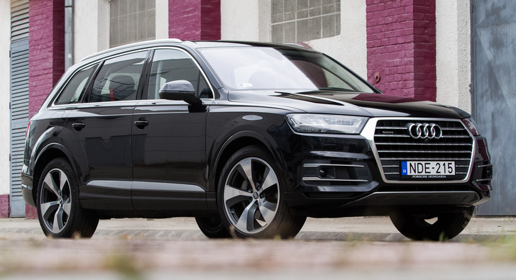 Az Audi jelenleg legnagyobb SUV-ja, a Q7