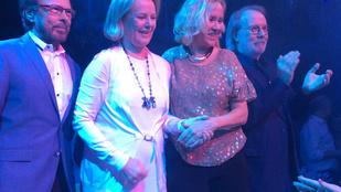 Újra összeállt az ABBA, igaz, csak egy étteremben