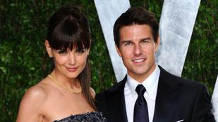 Katie Holmes elmondta, hogyan szedte össze magát, miután elvált Tom Cruise-tól