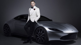Árverezik James Bond Aston Martinját
