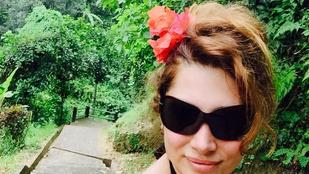 Horváth Éva elment Balira, és felismerhetetlen lett