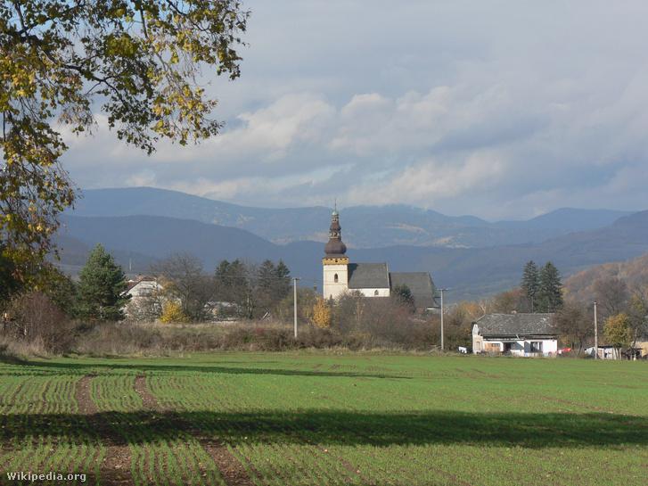 Csetnek középkori temploma