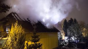 Három ház is kigyulladt, az egyikben holttestet találtak