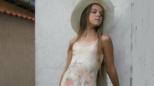 Így nézett ki VV Seherezádé tízévesen