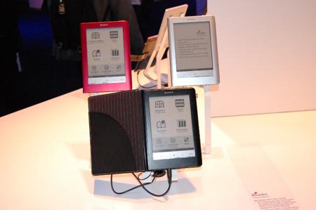 A Sony legújabb érintőkijelzős ekönyve 300 euróba kerül