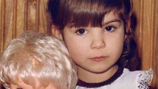 Molnár Andrea már kislányként is gyönyörű volt