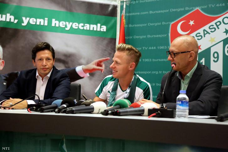 Dzsudzsák Balázs bemutatkozása a Bursaspornál 2015. augusztus 17-én