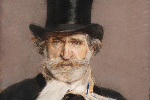 Giovanni Boldini: Arckép Giuseppe Verdiről