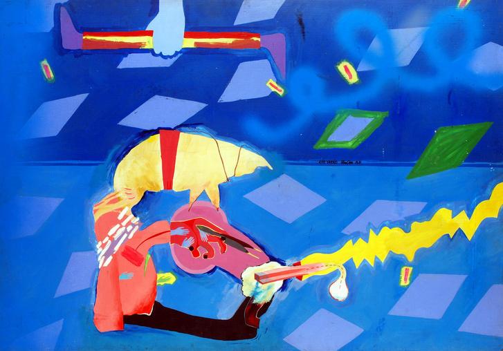 Wahorn András: Kék varázs, 1981