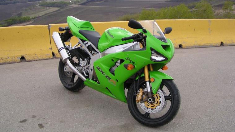 Kawasaki ZX-6R 636 - 2003.