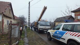Zagyvarékason fél tucat háznál lopták az áramot
