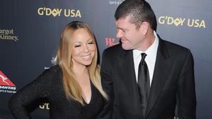 Mariah Carey megmutatta többkilós eljegyzési gyűrűjét