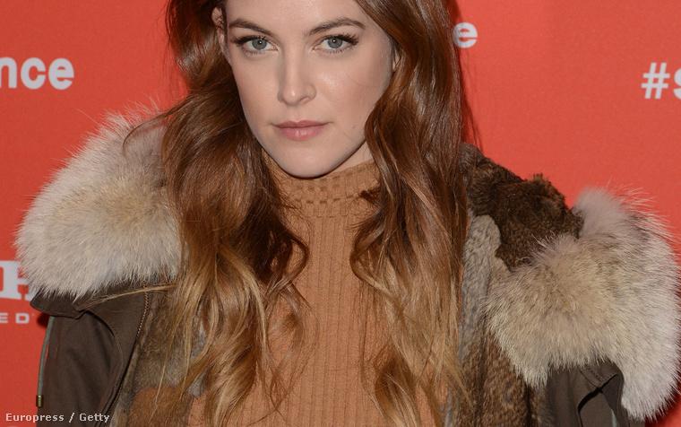 Riley Keough a Sundance filmfesztiválon